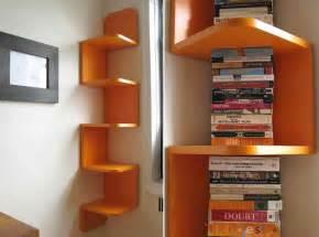 wooden corner shelf designs