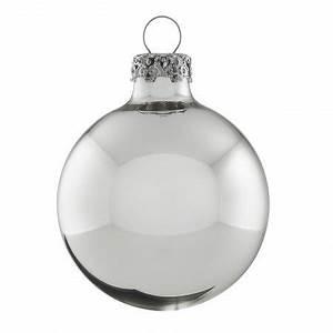 Vorhänge Silber Glänzend : silberne weihnachtskugeln glas 8cm gl nzend 4er set shop ~ Whattoseeinmadrid.com Haus und Dekorationen