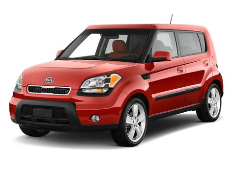 Kia Cars Red 2011