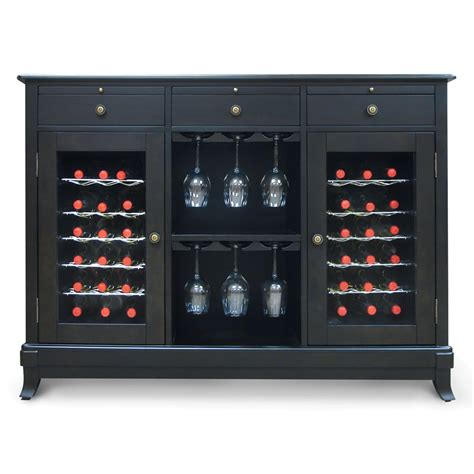 Refrigerated Wine Cabinet Furniture by Wine Cellar Credenza The Green Head