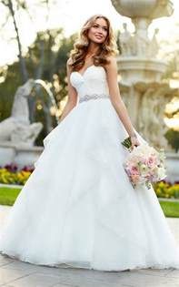 brautkleider eng strapless organza gown wedding dress stella york wedding dresses