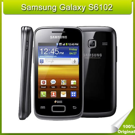 refurbished android phones refurbished phone samsung galaxy y duos s6102 android