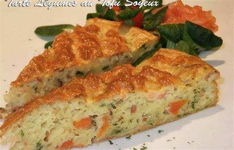 cuisiner tofu soyeux tarte aux légumes et tofu soyeux recette dukan pl par
