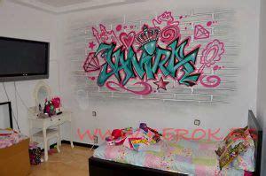 decoracion graffiti profesional habitaciones ninas