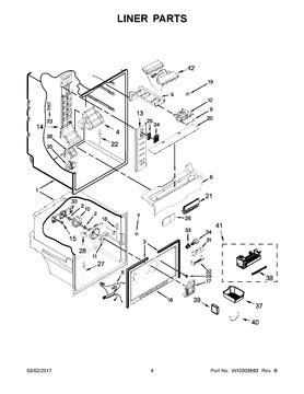 Whirlpool Thermistor Wiring Diagram by W10316760 Whirlpool Refrigerator Thermistor Appliance