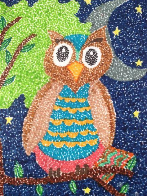 image result  easy pointillism animals jr art art