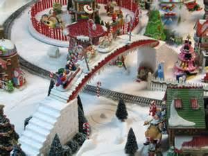 North Pole Christmas Village Display Ideas