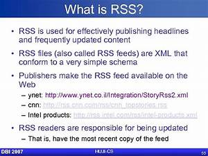 Applications Of Xml Web Services Rss