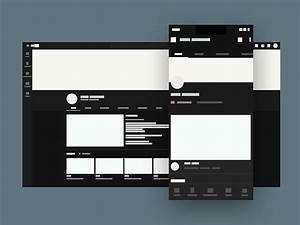 Resume Design Download Youtube Channel Branding Mockup Template Download Mockup
