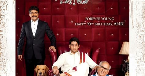 Akkineni's Manam Movie First Look Posters