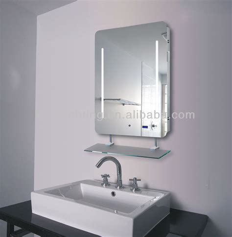 Bathroom Mirror With Shelf And Light by Ip44 Left And Right Light Backlit Bathroom Mirror Light Up