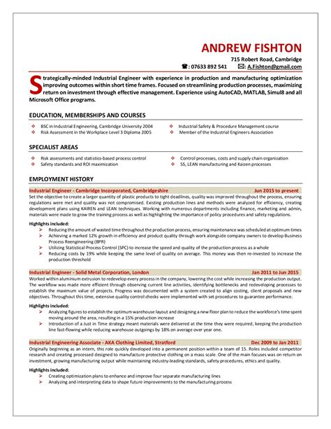 professional resume templates concise compelling