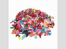 Confetti Tissue Assorted Mix shapes and Colours 1 KG