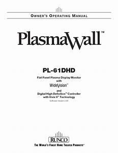 Pl-61dhd Manuals