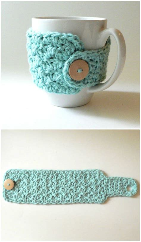 Some of the cozies below are cute, some are serious, some will make you smile but all of them are quick and easy to make and great for anyone who'd enjoy a holiday hot drinks holder. 74 Free Crochet Cozy Patterns Just Waiting for You to Make - DIY & Crafts