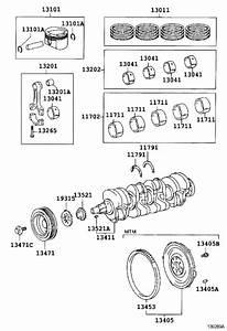 Toyota Celica Engine Crankshaft Pulley Bolt