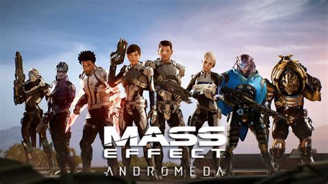 Hd Mass Effect Wallpapers Mass Effect Andromeda The Team Wallpaper Hd By Wesker1984 On Deviantart