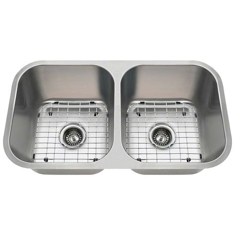 kitchen sinks for polaris sinks all in one undermount stainless steel 32 in 8591