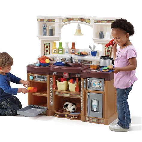 step2 lifestyle kitchen with green countertop step2 rise shine kitchen neutral step 2 toys quot r 9790