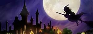 Halloween, -, Moonlit, Witch