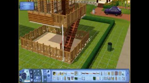 construction d une maison contemporaine sims 3
