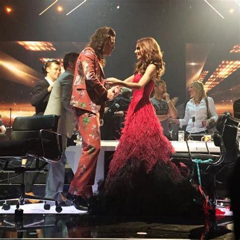 Cheryl Fernandez Versini and Harry Styles