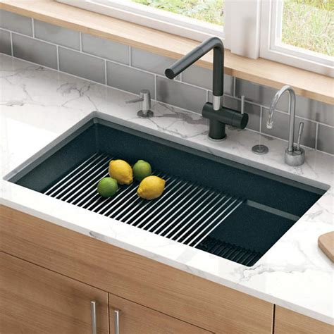 peak large single bowl undermount kitchen sink made of