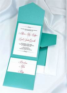 25 best ideas about tiffany wedding invitations on With print your own pocket wedding invitations