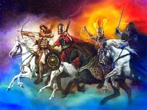 horsemen four apocalypse prophecy bible cavalieri apocalisse 4horsemen dreams