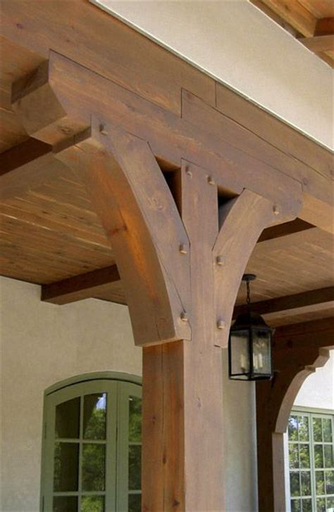 Porch Post Corbels by This Detail Featuring Wendy Posard Associates