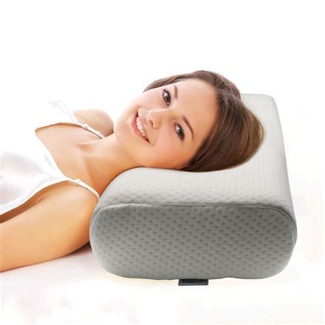 most comfortable pillow valuetom cervical contour pillow for neck most