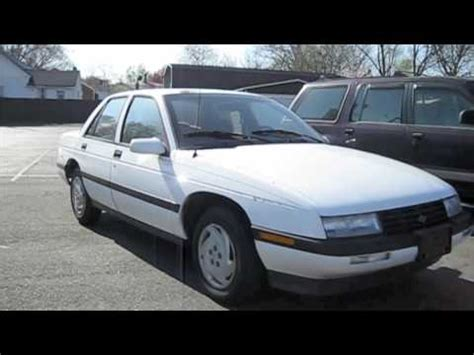 how things work cars 1995 chevrolet corsica seat position control 1993 chevrolet corsica lt start up exhaust in depth tour and short drive youtube