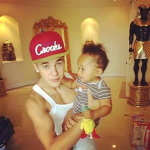 Justin Bieber with Tyga's son Cairo. | tyga is my husband