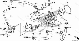 Honda Scooter 2009 Oem Parts Diagram For Water Pump