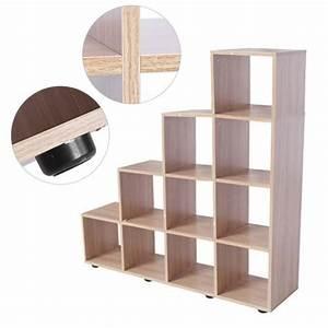 Cube Etagere Bois : biblioth que tag re cube de rangement en bois achat vente biblioth que biblioth que tag re ~ Teatrodelosmanantiales.com Idées de Décoration