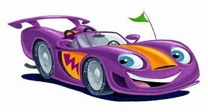 Race Clipart Racecar Cartoon Clip Animated Racing