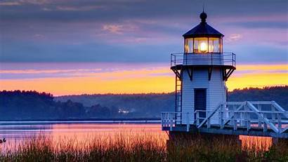 Lighthouse Backgrounds Sunset Background Wallpapers