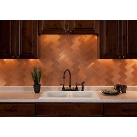 copper kitchen tiles 24 best images about kitchen backsplash on 2583