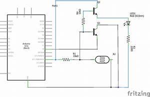 led - Photoresistor Transistor Circuit - Electrical ...