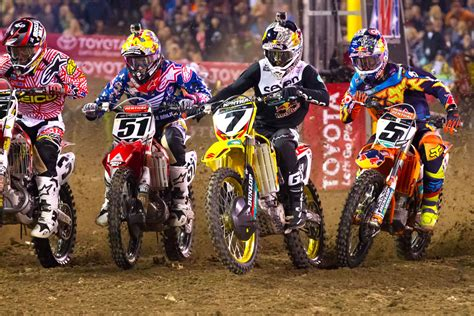 ama motocross 2014 results 2014 ama supercross anaheim 1 results 187 motorcycle com news