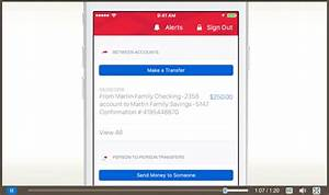 How To Transfer Money Between Accounts In The Mobile