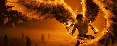 Wings Fire Angel Desktop Screen Phone Fog