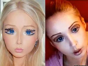 Valeria Lukyanova, Human Barbie, Fake? Site Claims ...