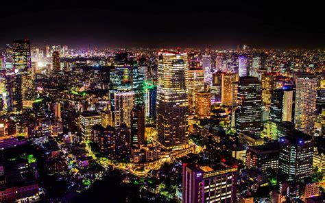 tokyo city wallpapers group  city lights tokyo