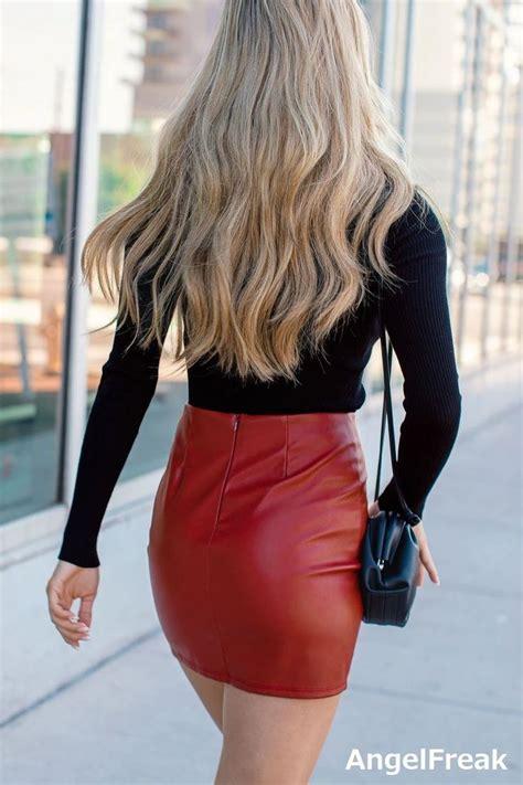 Pin by J on tt   Mini skirts, Leather mini skirts, Leather ...