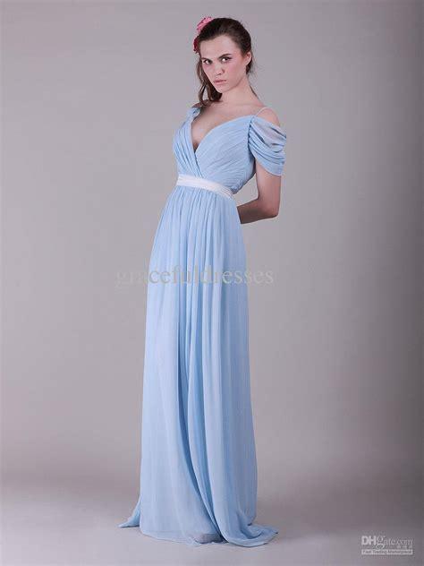 light blue vintage dress light blue vintage chiffon bridesmaid dresscherry marry