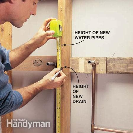 plumb  pedestal sink  family handyman