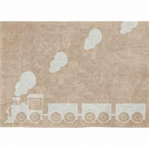 Tapis Pour Bébé : tapis original pour enfants motifs train aratextil ~ Melissatoandfro.com Idées de Décoration