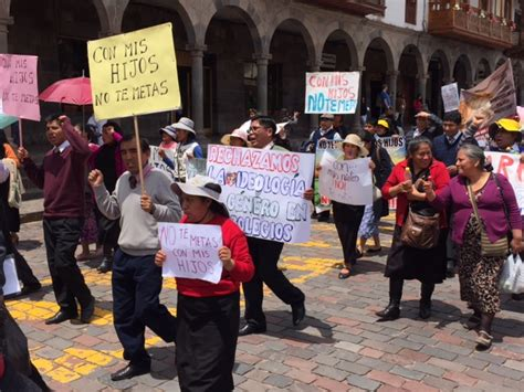 Peru´s Cities And The Chambers Of Congress Have Been