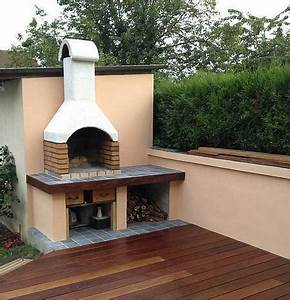 comment fabriquer un barbecue en dur you barbecueorg With barbecue en dur exterieur
